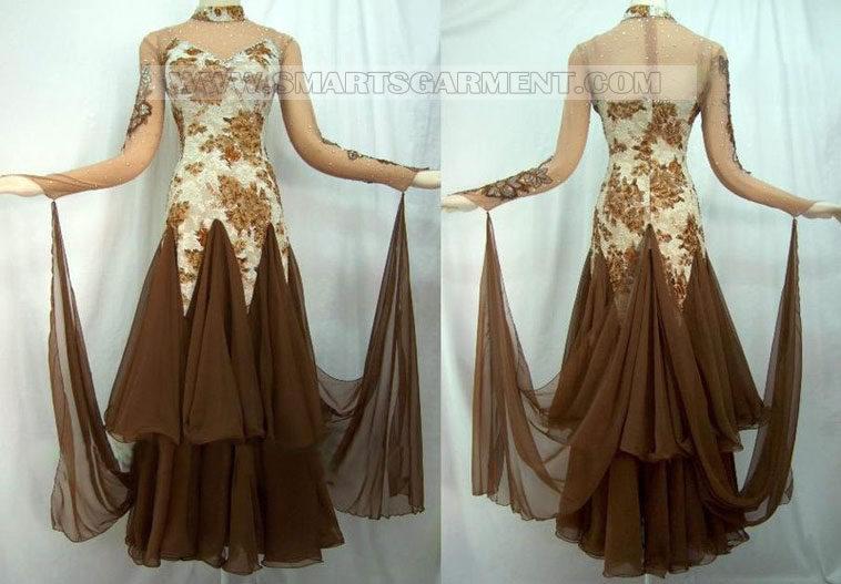 Tailor-made Ballroom dancing dresses,plus size ballroom dresses